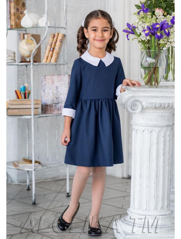 Белое Платье Для Девочки Воротником